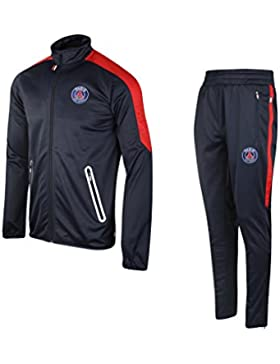 Paris Saint-Germain: chándal PSG, colección oficial del club de fútbol PARIS SAINT-GERMAIN, talla infantil, Niño...