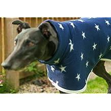 Cálido edición limitada Whippet Greyhound abrigo por perro y casa en muchos tamaños