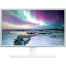 Samsung S24E370 Monitor per PC, Display FHD 24'', LED, 16.7 Milioni di Colori, 4 ms, 24 W, Bianco/Azzurro