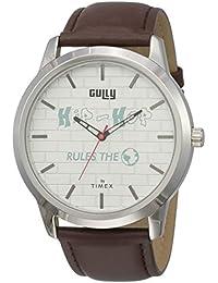 Gully by Timex Hip-hop Analog White Dial Men's Watch-TWEG15022