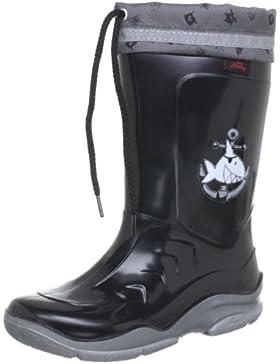 Capt'n Sharky Michael - Botas de agua de niños sin cordones