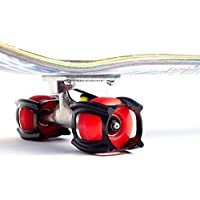 SkaterTrainer 2.0, L'accessorio da skateboard per imparare a eseguire le manovre e atterrare in pochissimo tempo., Black