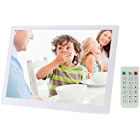 Andoer 15.6 inch High Resolution 1280*800 LED Digital Picture Frame (White)