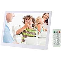 Andoer 15.6 inch High Resolution 1280 * 800 LED Digital Picture Frame (White)
