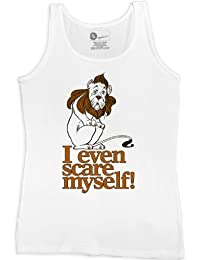 Mujer The Wizard Of Oz Vest - Cowardly Lion - White - XXL (16-18)