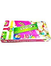 Prezzie Villa 2 in 1 Ludo and Snakes & Ladder Game for Kids Friends Family