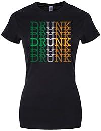Drunk St Patrick's Day Ladies T-Shirt