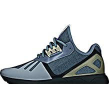 Adidas Tubular Runner, medium grey heather-core black-cyber metallic