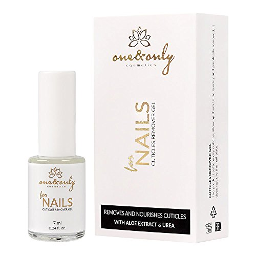 ONE&ONLY FOR NAILS - CUTICLES REMOVER GEL WITH ALOE EXTRACT AND UREA 7ml / 0.24 lenisce le irritazioni e ammorbidisce...