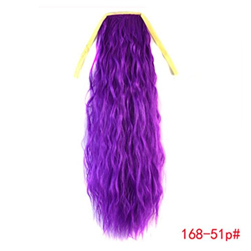 Tianya Einzigartige kreative Fashion Charming Design Fake Haar Decor Damen Band Dick gewellt gelockt lang Pferdeschwanz Schachtelhalm Clip Hair Extensions Best HIR Decor für Night Party
