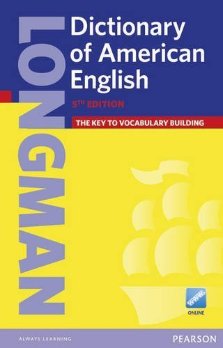 Longman Dictionary of American English (paperback with PIN) (5th Edition) 5th by ELT, Pearson (2014) Paperback
