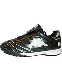 Kappa Schuhe Fußballschuhe Jungen Schwarz Weiß