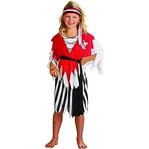 Reír Y Confeti - Ficpir013 - Disfraces para Niños - Traje Corsaire - Chica - Talla L