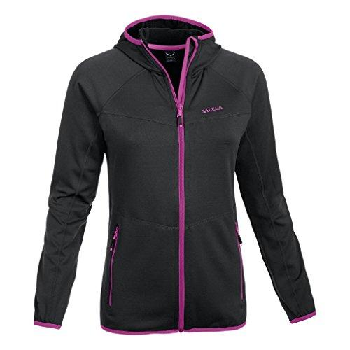 SALEWA Damen Jacke Pollux PL W Jacket, Black Out/6490, 46/40 (L), 00-0000024553 Black Travel Jacket