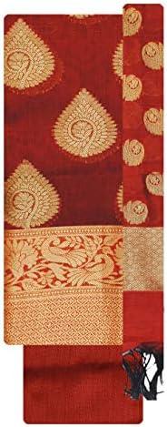 Kashi Fancy Sarees Women Cotton Un-Stitched Dress Material