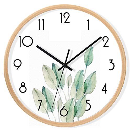 Salón Marco Redondo jardín Simple Reloj de Pared Nordic IKEA Reloj Estilo...