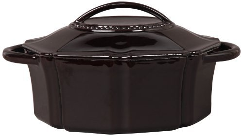 isaac-mizrahi-bella-chic-oval-casserole-and-lid-4-quart-mahogany-by-isaac-mizrahi