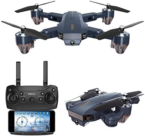 WIFI RC Drone, FQ777 FQ35 repliable Altitude Hold 720P Caméra WIFI RC Quadcopter, FPV Real-Time Image Transmission Remote Aircraft   Réduction