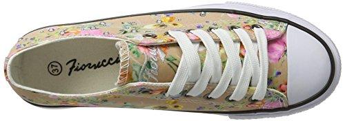 Fiorucci Fepa005, chaussons d'intérieur femme Beige
