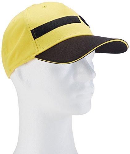 Puma Unisex Mütze BVB, cyber gelb-schwarz, One size, 747951 01