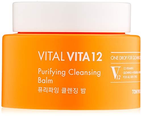 TONYMOLY Vital Vita 12 Purifying Cleansing Balm,1er Pack (1 x 75 g)