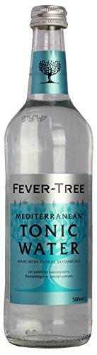Fever Tree Mediterranean Tonic Water 0,5 Liter Flaschen, 6er Pack (6 x 500 ml)