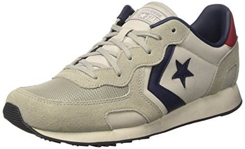 Converse Herren Auckland Racer Distressed Ox Sneakers Grau (Ghost Grey/moon Struck)