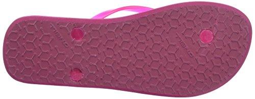O'Neill Damen Fw Printed Flip Flop Dusch-& Badeschuhe Pink (PINK Allover Print W/ BLUE)