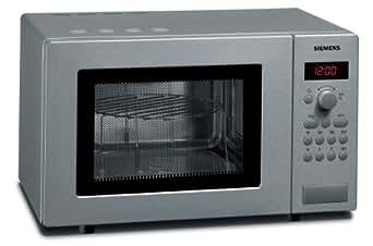 Siemens HF15G541 Mikrowelle / 17 L / Edelstahl / Gewichtsautomatik / Auftauprogramme