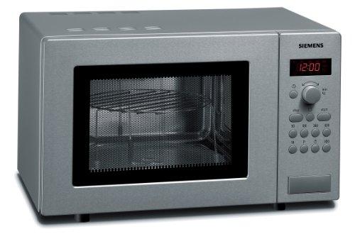 Siemens HF15G541 - Microondas de acero inoxidable