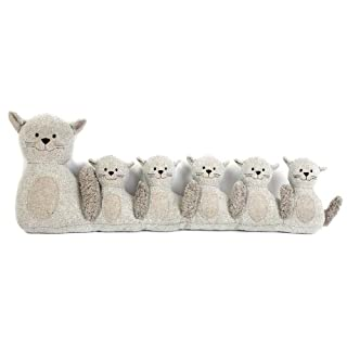 71Cm Grey Cat Draught Excluder ~ Door Draught Cushion