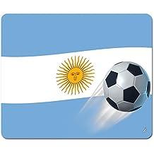 Calcio - Bandiera Dell'Argentina Tappetino Per Mouse (23 x 19cm)