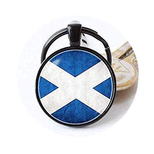 we are Forever family Llavero con la Bandera de Escocia,...