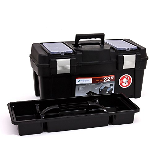 Werkzeugkoffer Werkzeug Werkzeugbox Heimwerker Metall Viper 22″ 550x267x270 mm - 4