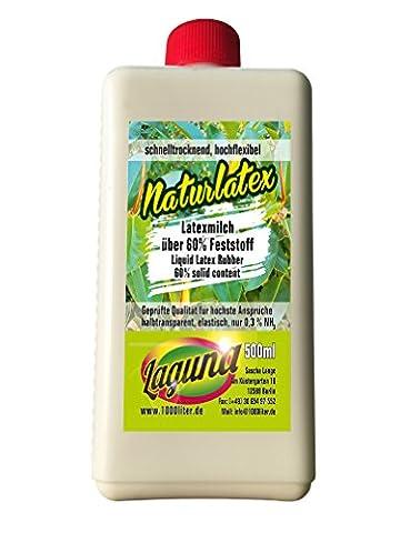 Latex Liquide 500ml maquilleur manuels Latex naturel Lait Latex