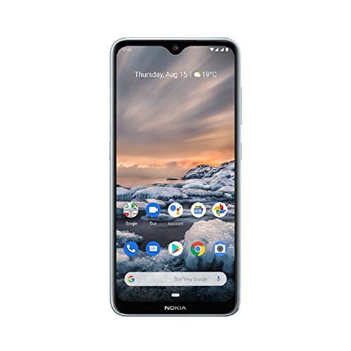 Nokia 7.2 6.3-Inch Android UK SIM-Free Smartphone with 4GB RAM and 64GB Storage (Dual Sim) - Ice Best Price and Cheapest
