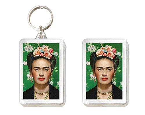 Llavero y Imán Frida KALHO