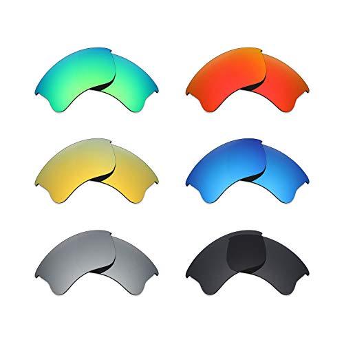 MRY 6Paar Polarisierte Ersatz-Gläser für Oakley Flak Jacket XLJ Sonnenbrille