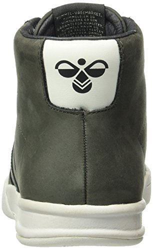 Hummel Unisex Adulto Hml Stadil Inverno Alta Sneaker Top Grigio (beluga)