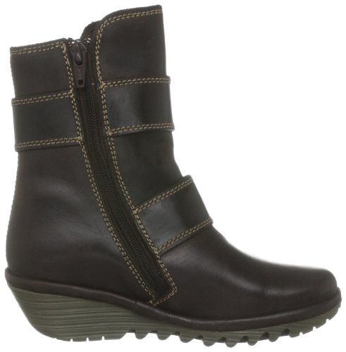 FLY London Yaki, Bottes fille Marron (dark Brown)