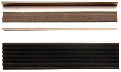 BGS 3044 | Schraubstock-Schutzbacken | Aluminium | Breite 125 mm | 2-tlg.