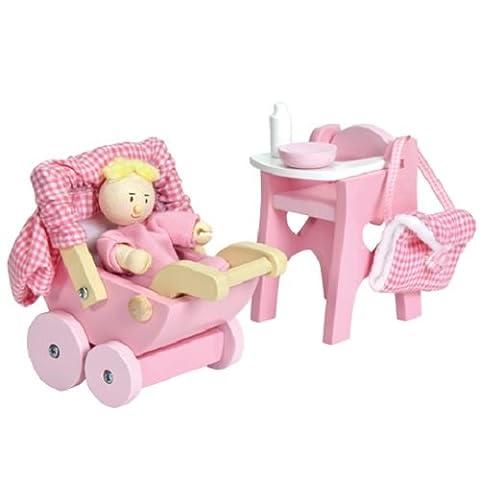 Le Toy Van Daisylane Doll's House Furniture - Nursery