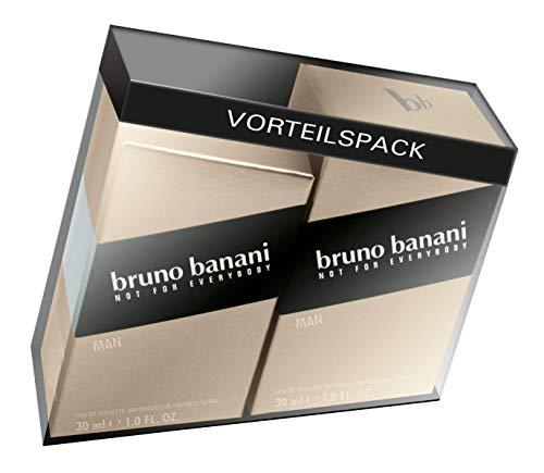 Bruno Man Signatur Doppelpack Eau de Toilette, 60 milliliters (Kaffee-geschenk-pack)