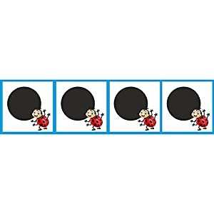 4 Zirkelpunkte FÜR KINDER (20 X 20 cm) | aus Aluverbund oder Kunststoff für Reitplatz und Halle
