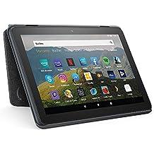 Hülle für Fire HD 8-Tablet | Kompatibel mit der 10. Generation (2020), Kohlenschwarz