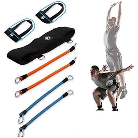 WE&ZHE dispositivo di addestramento di pallacanestro multifunzione Uomo resistenza lega Attrezzature Fitness Fune Leg Protezione Ambientale lattice di nylon tubo uso tessitura della famiglia di famiglia , 1# - Intorno Schiuma Palla
