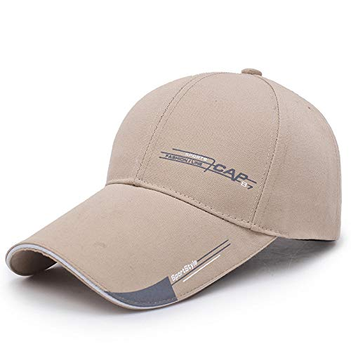 zlhcich Modetrend-Sonnenschutzkappe des beiläufigen Hutes der Männer und der Frauen Schatten-Baseballmütze im Freien -