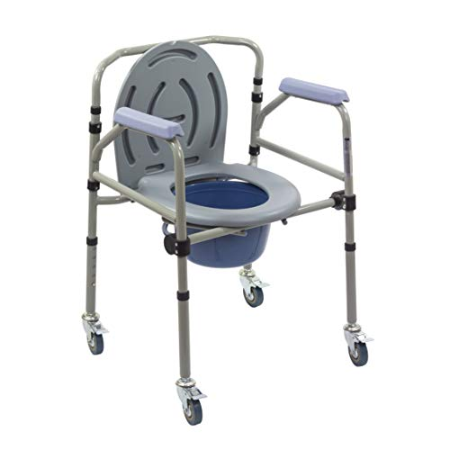 KosmoCare Premium Imported Commode with Castors