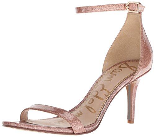 Sam Edelman Patti Damen Heels, Pink - Nude Glitter Patent - Größe: EU 40 -