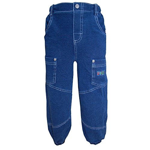 FIXONI - Thermohose Stoffhose Jungen, blau - 80blau
